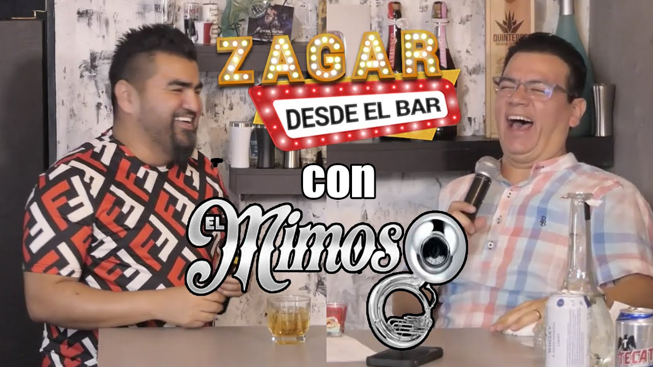 Zagar desde el Bar con El Mimoso