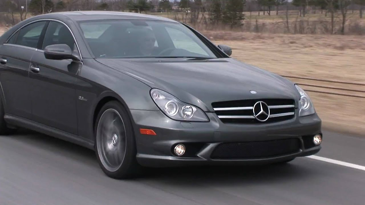 2010 mercedes benz cls63 amg drive time review youtube for 2010 mercedes benz cls