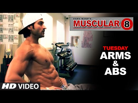 Tuesday: Arms Workout & Abs Workout | 'MUSCULAR 8' by Guru Mann