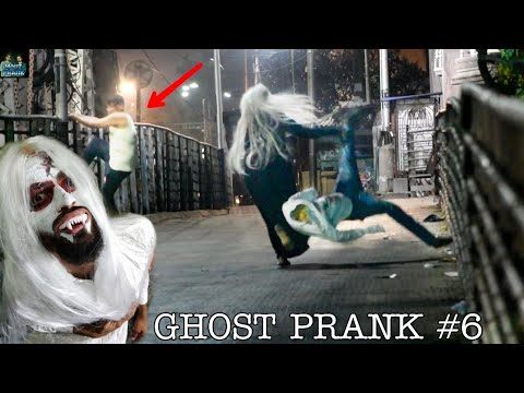 GHOST PRANK PART 6 || INDIA'S REAL GHOST PRANK || MOUZ PRANK