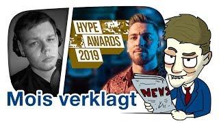 Mois zu 50.000 Euro von den Hype-Awards verklagt / Kollegah traut sich nicht?- Cake News #19