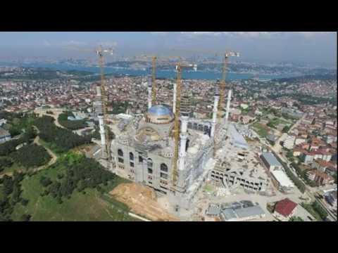 Çamlıca Camisi yarın açılıyor