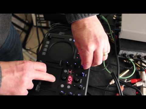 Korg Kaoss DJ EQ and Filter Test (minikp, kaoss pad)