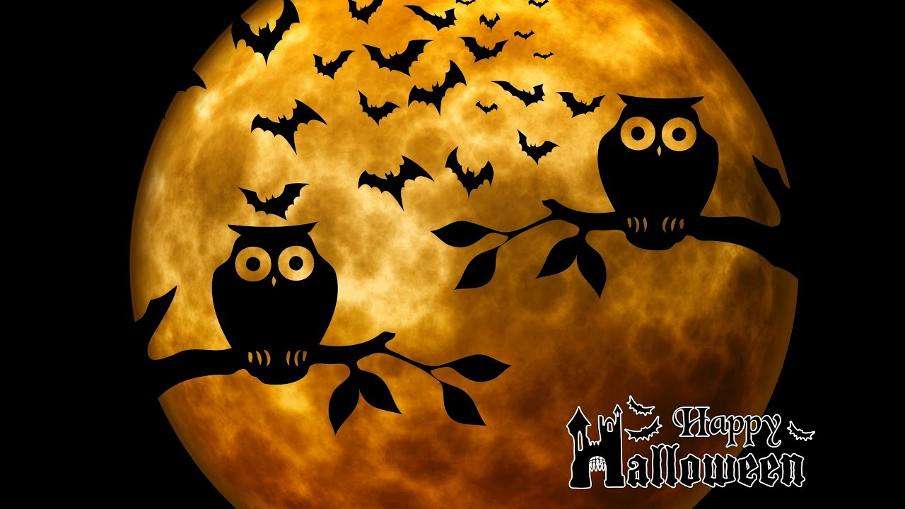 Geluiden Halloween.Halloween Mood Video Scary Images And Sounds 1 Hour Long