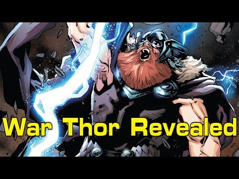 War Thor Revealed | Mighty Thor #20