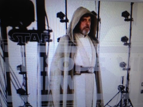 Luke Skywalker: Mark Hamill In Jedi Robes For Star Wars
