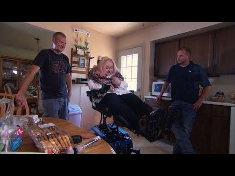 AJ - 10 Year Volunteer Chain Helps Utah Woman With MS