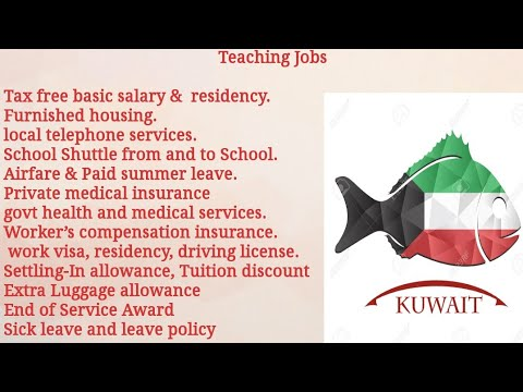 #Overcome  How To Apply Online School Teaching Jobs In Kuwait || Salary|| Experience