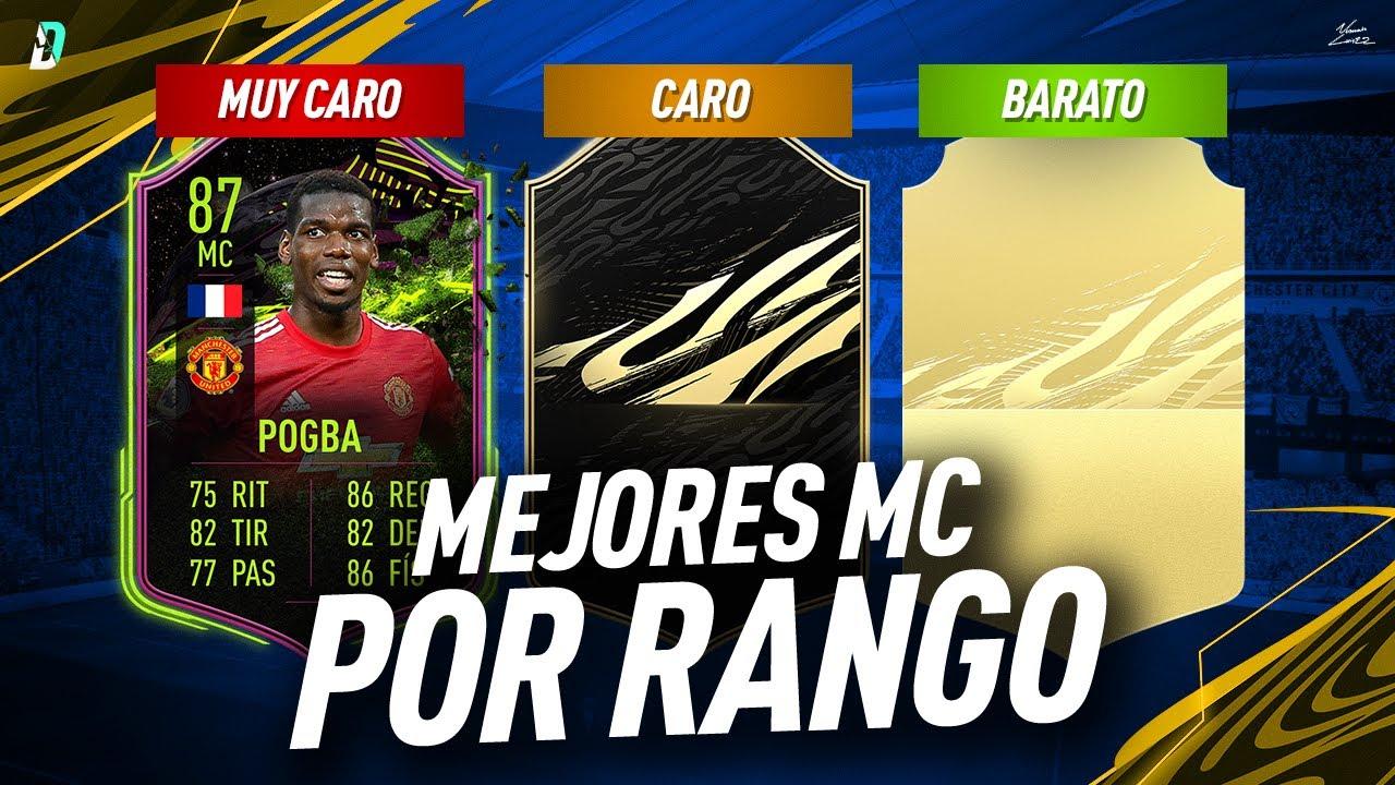 10 MEJORES MC POR RANGO DE PRECIO EN FIFA 21