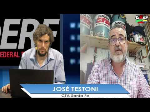 José Testoni: Son las grandes fortunas las que deben hacer el esfuerzo