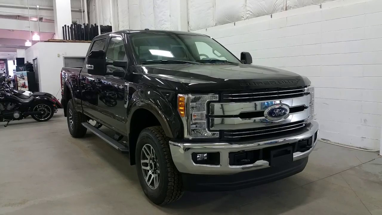 2017 Ford F350 Lariat W Leather Sunroof Nav Review Boundary You