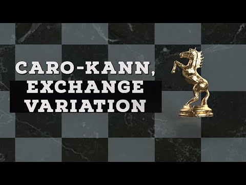 Caro-Kann, Exchange Variation | Chess Openings Explained - NM Caleb Denby