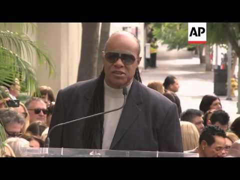 Stevie Wonder, John Legend attend Walk of Fame ceremony for Grammy producer Ken Ehrlich