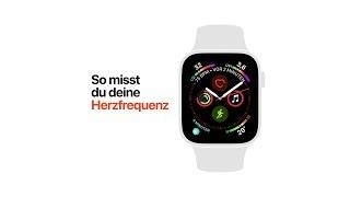 Apple Watch Series 4 – So misst du deine Herzfrequenz – Apple