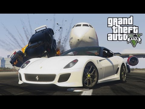GTA 5 - Ferrari 599 GTO ! Stunts, Drifts & Fun