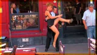 Argentina: Tango in Caminito. Best street dancers
