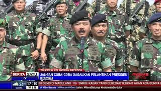 Siapapun yang Ingin Gagalkan Pelantikan Presiden Akan Berhadapan dengan TNI