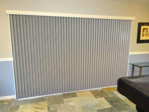 vertical honeycomb shades for patio door or sliding door