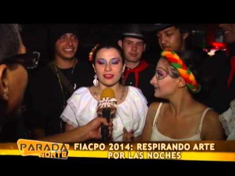 PARADA NORTE 08/06/14 FIACPO 2014: RESPIRANDO ARTE POR LAS NOCHES