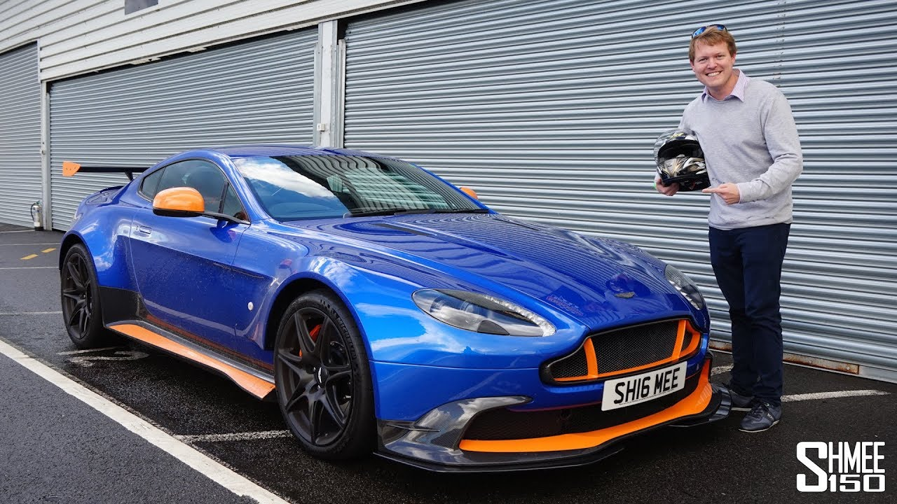 Aston Martin Gt8 >> I Took My Vantage GT8 on Track! - YouTube