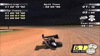 World Of Outlaws Sprint Cars 2002 Gameplay (PC)