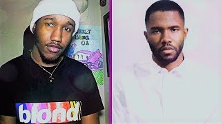 FRANK OCEAN IS A GOAT!!! FRANK OCEAN-WITHER REACTION!!!