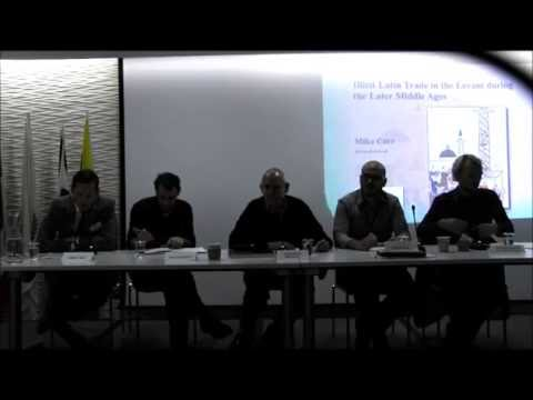 LHF London Conference 2016 - Mike Carr: Illicit Latin Trade in the Levant