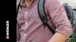видео Обзор рюкзака Wenger для ноутбука. Wenger 11864415