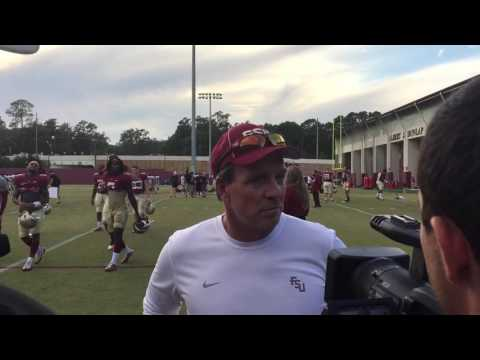 Jimbo Fisher Post Practice 10/25/2016