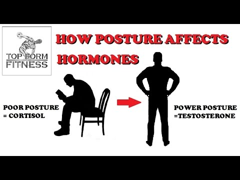 How Posture Affects Hormones - Flexion vs Extension | Boost Testosterone