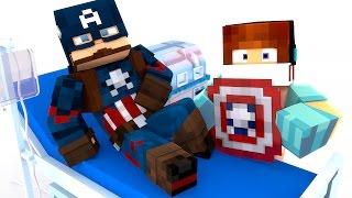 Minecraft: CIRURGIA NO CAPITÃO AMÉRICA !! - ( Minecraft Cirurgia )