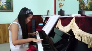 Nhạc cụ bà rịa. Trò Minh Phương. Piano Canon in C