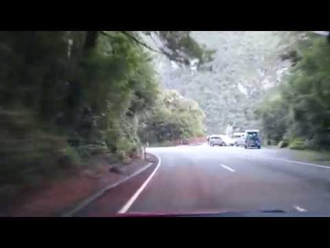 Road to Milford sound in less than 6 minutes, State Hwy 94 fall 2015