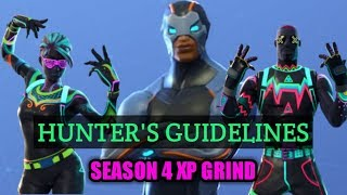 Fortnite Season 4 Battle Pass Xp GRIND Stream (PS4 LIVE) Hunter's Guidelines