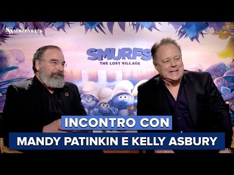 I PUFFI - Incontro con Mandy Patinkin (Grande Puffo) e il regista Kelly Asbury