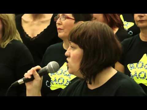 Rock Choir at Northfleet School for Girls ~ 1st December 2012