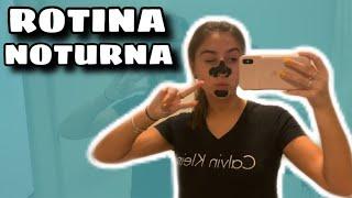 ROTINA NOTURNA + LETTERING