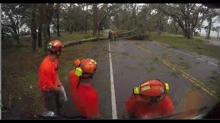 Time Lapse- Hurricane Matthew Cleanup In S. Carolina