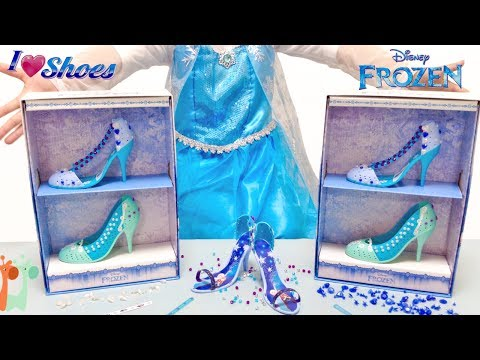 エルサの自分でデザイン くつ屋さん お店やさんごっこ ディズニー / Disney Frozen Elsa Shoe Store Playset : I Love Shoes