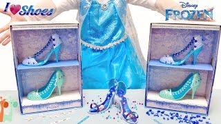 エルサの自分でデザイン くつ屋さん お店やさんごっこ ディズニー / Disney Frozen Elsa Shoe Store Playset : I Love Shoes thumbnail