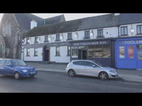 Views of Newtownmountkennedy, County Wicklow, Ireland in 4K