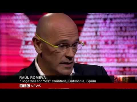 Hardtalk BBC World TV - Raül Romeva