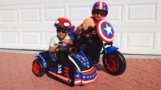 Vlad und Nikita sind Superhelden! Videosammlung für die ganze Familie!