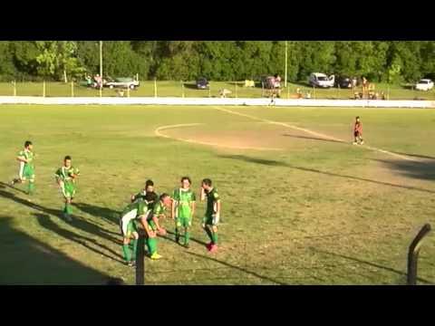 Gol de Carlos Jaime que le dio el triunfo a Juventud Unida