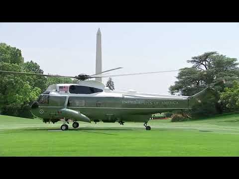 WOW: The BEST Marine One Landing You May Ever See