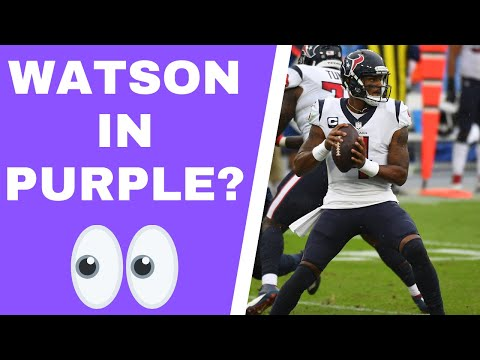 Deshaun Watson on the Minnesota Vikings?