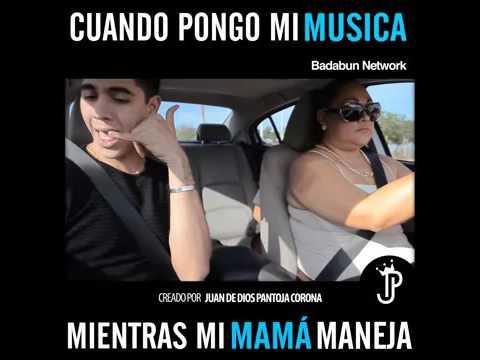 Tu cuando tu mama pone musica en él auto