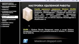 Удаленная работа с Windows PowerShell 2.0 [1/3]