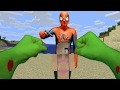 REALISTIC MINECRAFT ~ HULK VS BAD SPIDERMAN