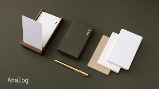 Analog: The Simplest Productivity System